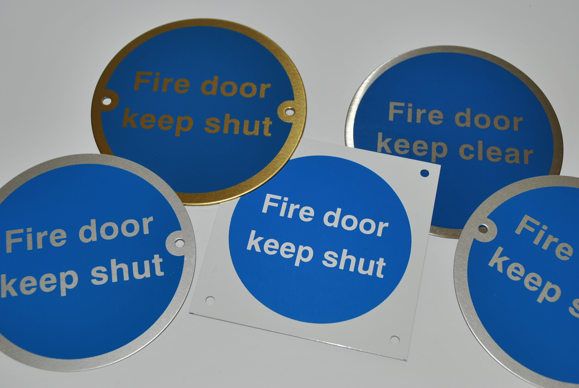 Fire door, keep shut